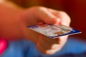iStock handing credit card 300x199 More Answers to Big Business Lunch Questions