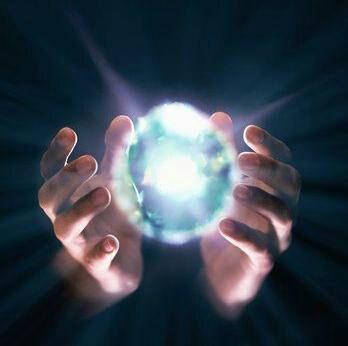 energy in hands